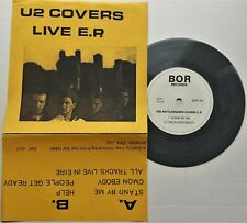 """U2 - Rattlesnakes Covers Live 7"""" EP 1987 UK Press Bor 001 Grey Vinyl Stand By Me"""