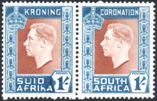 South Africa 1937 1s Coronation, HYPHEN OMITTED VARIETY, SG.75a, VFM, cat.£80