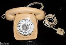 VINTAGE TELECOM PHONE  ROTARY DIAL  1974 PMG AUSTRALIA