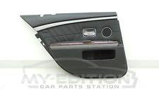 BMW e65 Leather Door Card Panel Driver Side Rear Left Hl