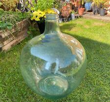 More details for vintage extra large 50l litre glass carboy terrarium bottle planter vase