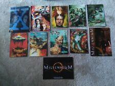 X-Files and Millennium Postcards x11