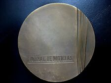 PAPER / HUNDRED YEARS OF A PAPER / UNUSUAL BRONZE MEDAL BY J.LIMA /  N101