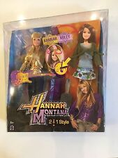 Hannah Montana 2 In 1 Doll Rotate Scalp Brunette, Miley Stewart 2008**