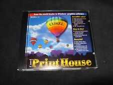 Corel Print House for Windows CD.  Runs on Windows 95 and IBM PC 486 DX