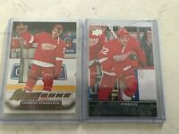 2015-16 UPPER DECK YOUNG GUNS/ CANVAS ANDREAS ATHANASIOU LOT OF 2