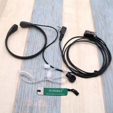 Hi-Q Vibration earpiece Headset Mic For KENWOOD PUXING PX-777 PX328 PX999 PX-666