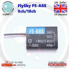 FlySky FS-A8S V2 2.4Ghz 8CH Mini Micro Receiver with PPM i-BUS SBUS Output - A8S