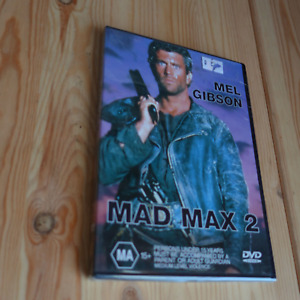 MAD MAX 2 Mel Gibson DVD Video MEL GIBSON Action THRILLER Series Apocalyptic