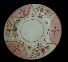 "CHARLES ALLERTON & SONS GAUDY DUTCH 6 3/4"" hand painted plate"