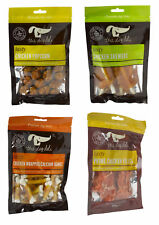 Petface Dog Deli Chicken Treats Variety Pack Calcium Bones Popcorn Skewers 100g