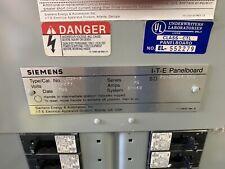 Seimens I T E 150 Amp Panel 480v Includes All Breakers