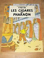 TINTIN TIM UND STRUPPI POSTER - LES CIGARS DU PHARAON / DIE ZIGARREN DES PHARAOS
