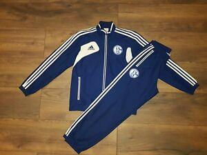 Adidas Condivo Schalke 04 Trainingsanzug Präsentationsanzug Anzug Jacke Hose 5