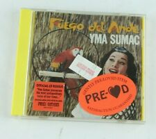 Yma Sumac Fuego Del Ande 1996 The Right Stuff Records Compact Disc CD