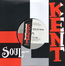 ZZ HILL Make Me Yours / PEGGY WOODS Love Is Gonna Get NEW NORTHERN SOUL 45 (KENT
