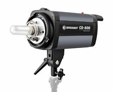 Bresser CD-600 600W Studio Flash Head Fan Cooled Strobe Digi-Display