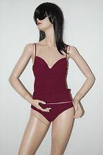 100% Authentic BURBERRY London Tankini Bikini Swimsuit Small