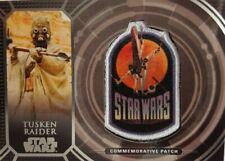STAR WARS 40th ANNIVERSARY Retro Patch Relic Card TUSKEN RAIDER  PC - 17