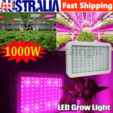 1000W LED Grow Light Hydro Medical Plants Veg Bloom Frui Full Spectrum Bulb AU