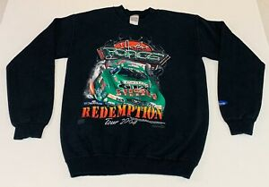 JOHN FORCE REDEMPTION TOUR 2004 LONG SLEEVE SWEATSHIRT Men's Small Black