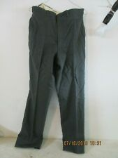 Military Issue Trousers, Mens Wool Serge