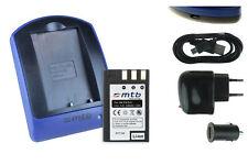 Baterìa+Cargador (USB) EN-EL9 para Nikon D40, D40x, D60, D3000, D5000