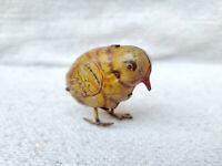1940s Vintage D.R.G.M Clockwork Windup Bird Tin Toy Germany US Zone