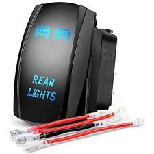 Led Light Bar Rocker Switch 5 Pin Laser On/Off Rear 20A/12V 10A/24V Free Ship