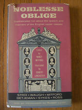 Noblesse Oblige, 1st Ed., Strix, Waugh Mitford, Betjeman, Sykes & Ross -1956