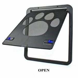 Magnetic Screen Outdoor Dogs Cats Window Gate Door Safe Lockable Pets Supplies