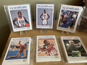 1992 Impel US Olympicards 110 Card Complete Set
