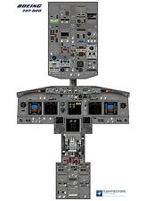 Cockpit - Flight Deck Training Posters 25%-100% - Boeing 737 NG - From £29.95
