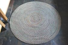 120cm 150cm Soft Cotton Circle Green Rustic Cottage Braided American Style rugs