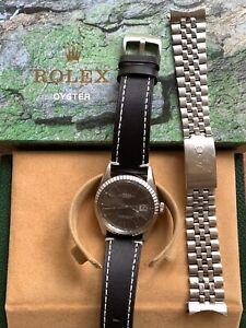 Rolex Oyster Perpetual Datejust 1603 Vintage 36mm Stainless Steel Men's Watch