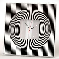 Abstract Minimalistic Lines Wall Clock Art Home Room Decor Gift Minimal Design