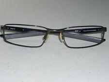 Oakley Socket 4.0 53 18 133 Sleek Poliert Braun/Schwarz Flex Brille Fassung