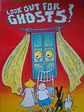 LOT OF 2 A GLOW IN THE DARK BOOKS, LOOK OUT FOR GHOSTS, YOU CAN'T SCARE ME