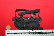 DAM/ SOLDIER STORY 1:6TH SCALE MODERN BLACK CHEST RIG CB35684