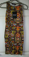 Missguided Women's Floral Print Retro Style Dress Size 8 New With Tags