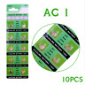 10pcs AG1/LR621/364A Button Cell Coin Alkaline Battery 1.55V Watches Accessories