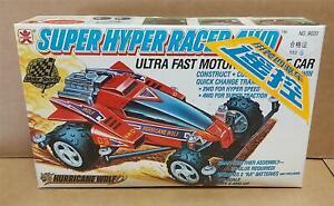 Super Hyper Racers 4WD Hurricane Wolf 1/32 Scale Car Kit New FUMAN Bandai NOS