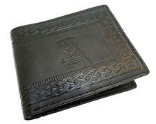 Para Hombre de Diseñador Genuino Real Cuero Billetera con Bolsillo de la Moneda/Bolsa