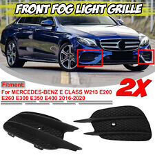 For MERCEDES W213 E400 E43 AMG Sport 2016-2020 Front Bumper Fog Light Lamp Grill