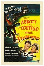 """ABBOTT AND COSTELLO MEET FRANKENSTEIN MOVIE POSTER 12"""" x 18"""""""