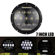 7'' Round Hi/Lo Beam H4 H13 LED Headlight For Hummer H1 2002-2006 H2 2003-2009