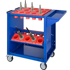 VEVOR CNC Tool Cart Trolley BT50 Taper Tooling