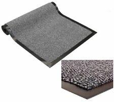 Grey Commodore Barrier Heavy Duty Mat Non Slip Rug Floor Office Home 80 x120cm