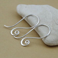 Spiral Earrings - Interchangeable Earring Hooks - Fancy Spiral Ear Wires