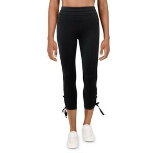 FP Movement Swerve Women's Lace-Up Ankle Length Cropped Activewear Leggings